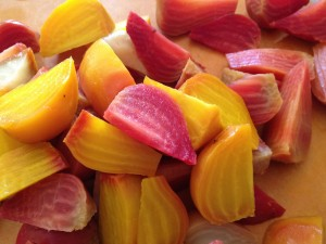 Colorful beets