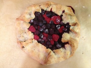 cooked tart berries