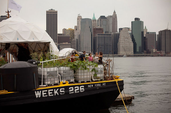 A view of the  Waterpod Project  by ABOG Fellow Mary Mattingly and collaborators, 2009. Photo: Mike Nagle.