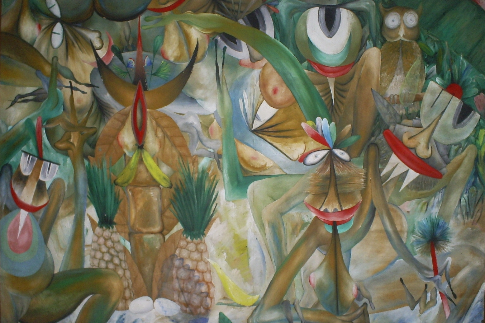 DRAPETOMANÍA: GRUPO ANTILLANO AND THE ART OF AFRO-CUBA - March 7, 2014 - July 18, 2014