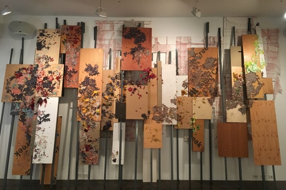 ARTISTIC DETRITUS, THE CIRCULATION OF POWER, AND INTERVENING IN THE HISTORIC RECORD AT THE 8TH FLOOR - AEQAI