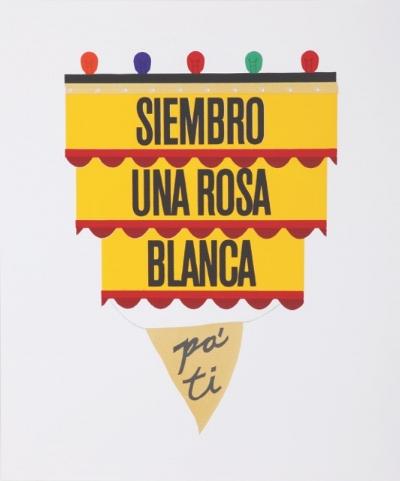 Ronny Quevedo,  Siembro Una Rosa Blanca Pa' Ti , 2010. Courtesy the artist.