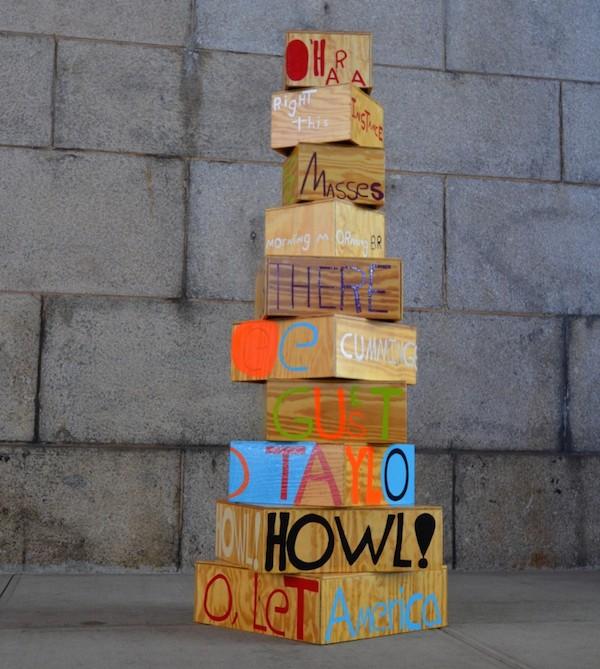 Samuel Jablon,  Poet Sculpture,  2013-Present