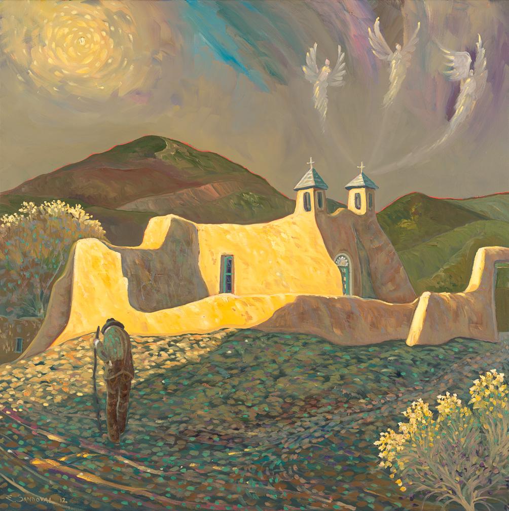 SUNLIGHT ON THE RANCHOS CHURCH