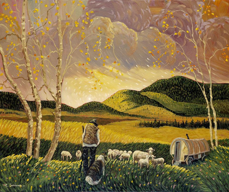 THE SHEEP CAMP