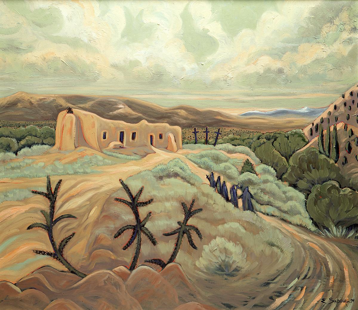 ABIQUE MORADA (26 X 30)