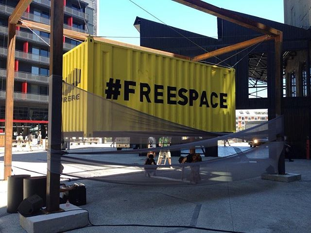 Preparations are under way for the final #freespace performance this afternoon! Join us at 3pm at Zeitz MOCAA . . . . . #freespaceevents #freespace #africancentreforcities #vandawaterfront #freespacesa #zeitzmocaa #placemaking #southafrica #southafricaza #socialjustice #urbandesign #whatsoncapetown #capetown #capetownmag #opencities #spatialjustice #representationmatters #africancities #urban #architecture #design #city #sustainability #change #innovation #futures #silodistrict #capetownsouthafrica #artweekcapetown #ictaf