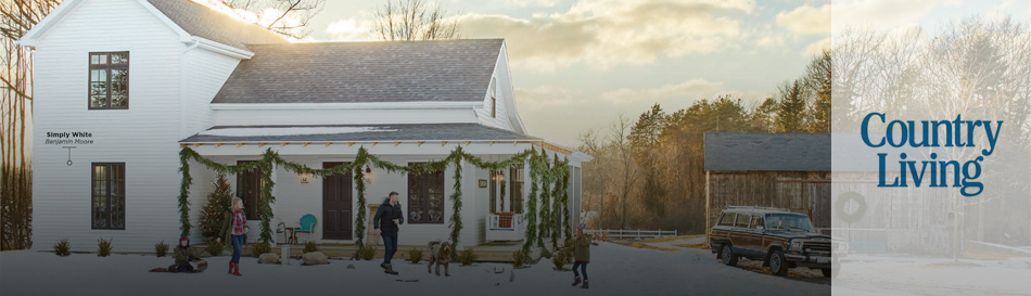 Orchard Hill Farm featured in Country Living | December 2018