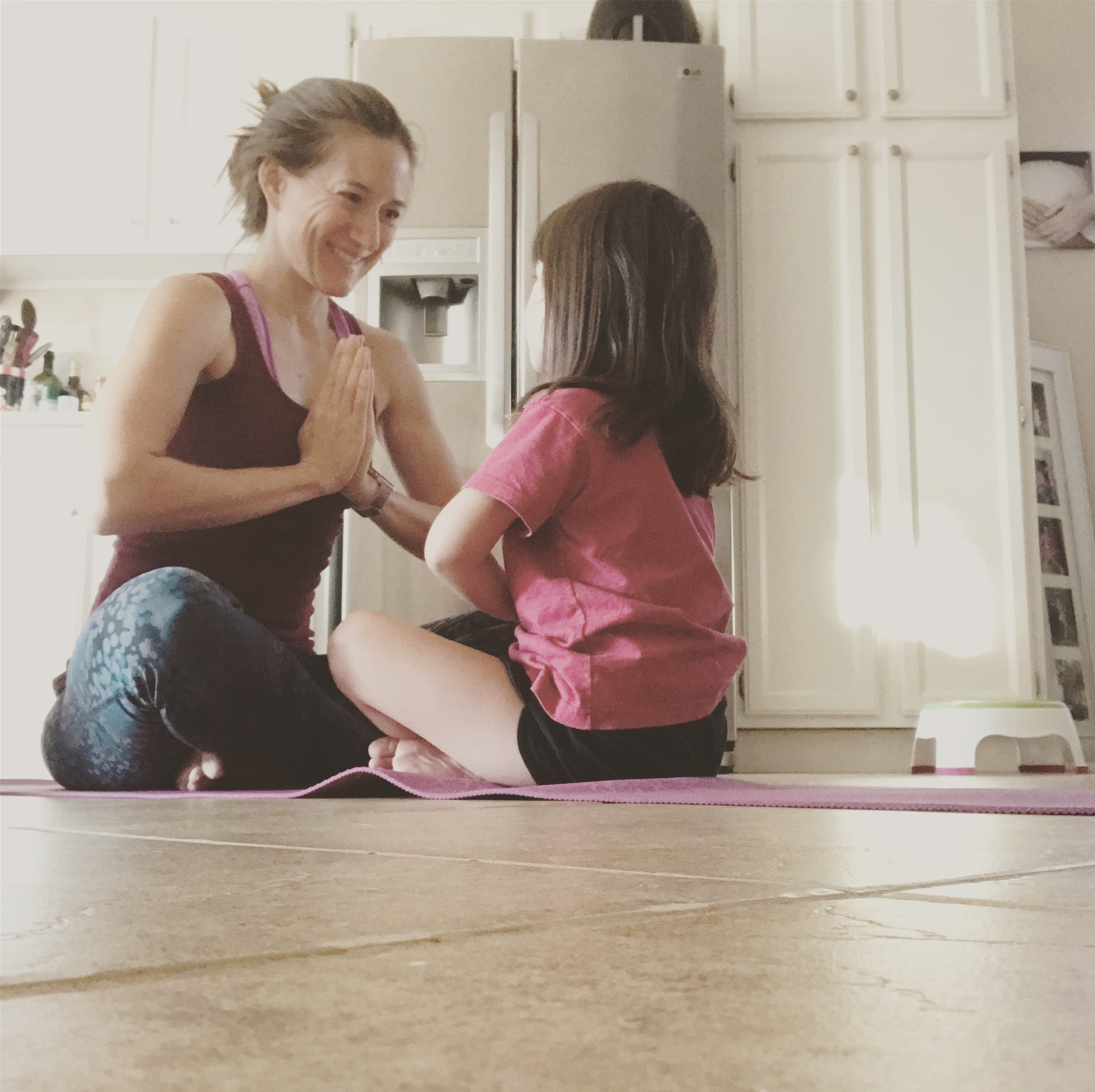 Share your favorite exercises with someone you love. - It's called, paying it forward. Christina Fit and Balanced