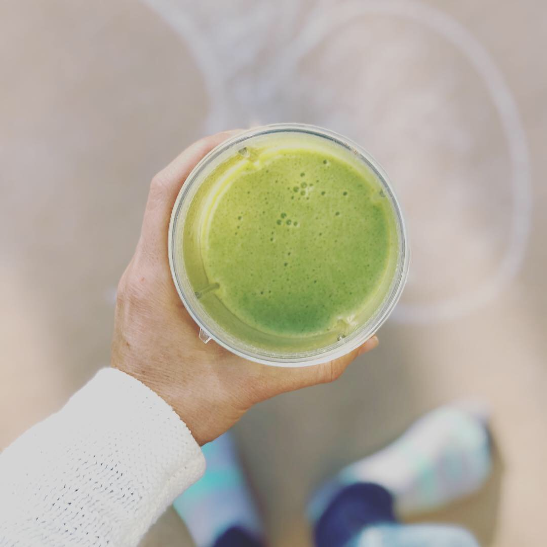 Simple Green Breakfast Shake - Christina Fit and Balanced