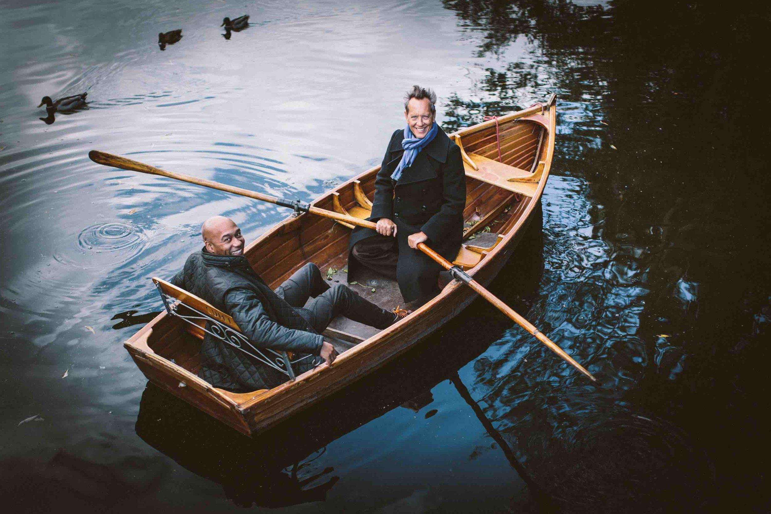 1. L83C6203 - Gus & Richard in boat.jpg