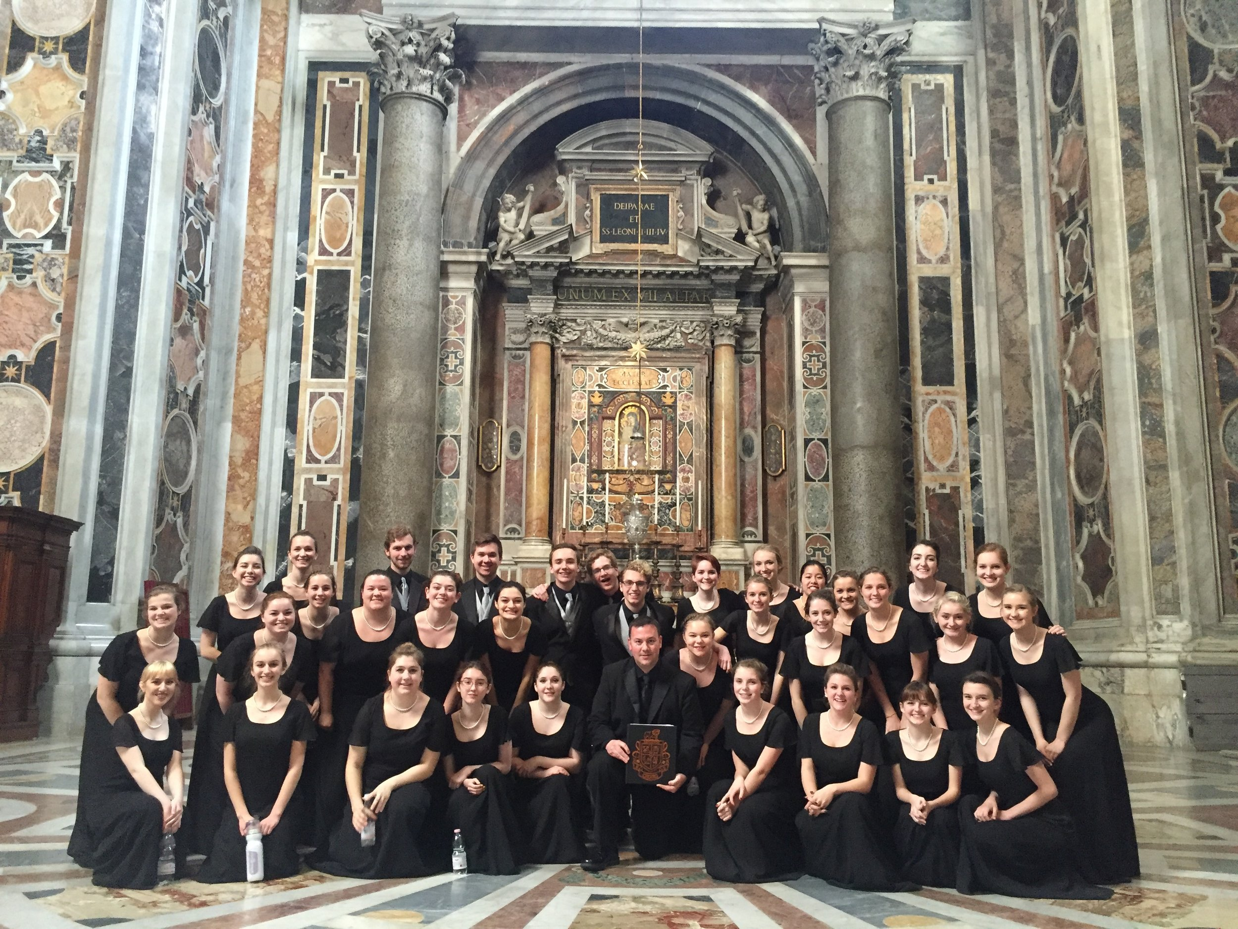 Brighton's Italy Choir at St. Peter's Basilica in Rome!