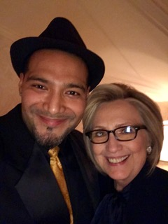 w/ Hilary Clinton