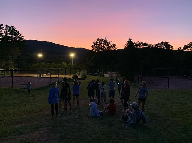 Beautiful night for Beckon, Beckon! Here's to soaking up the next 2 weeks together!