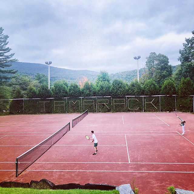 We loved hosting @babsonwtennis @babson_mens_tennis these past two days, best of luck this year!!!