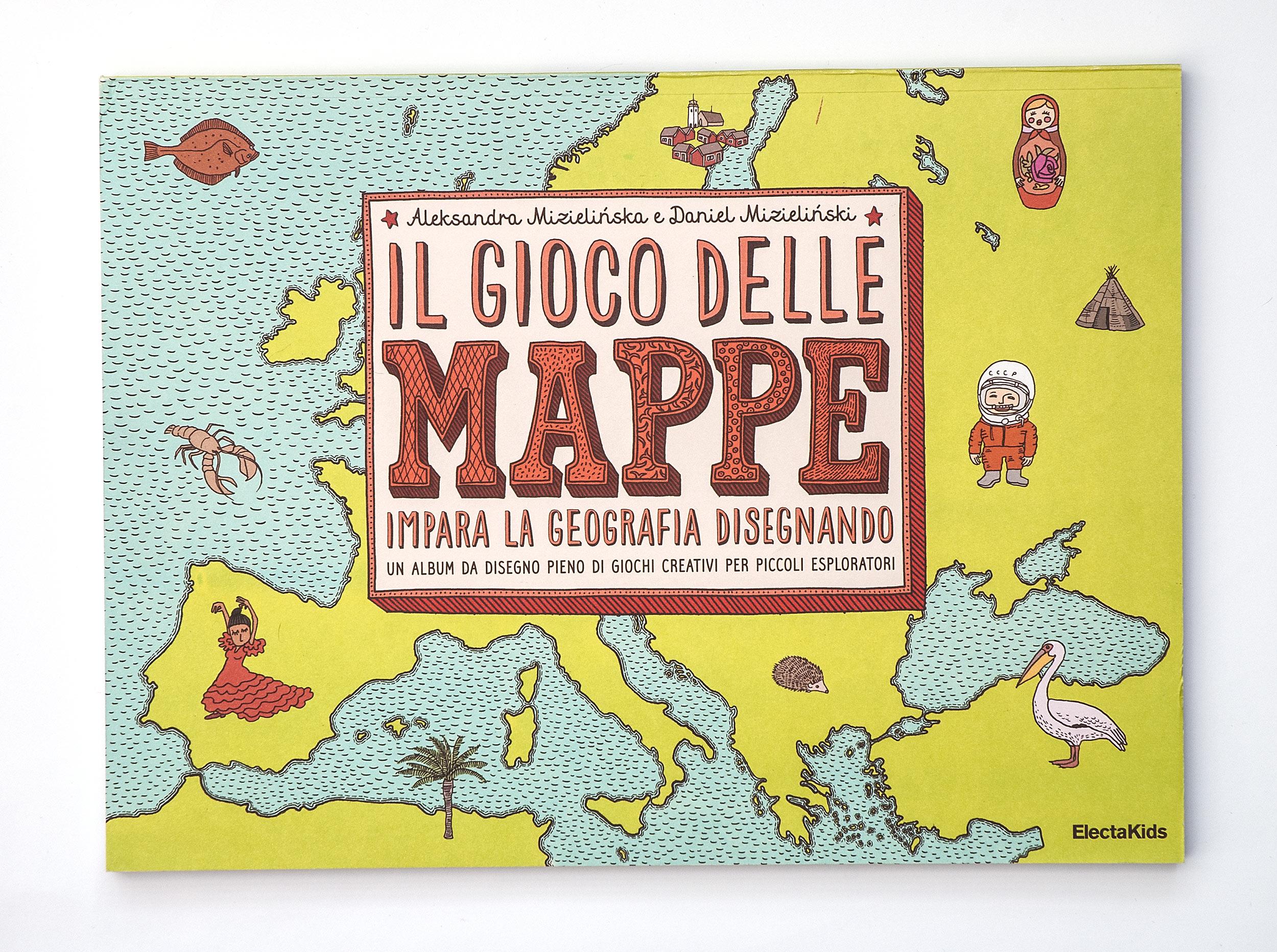 Il gioco delle mappe. Ipara la geografia disegnando