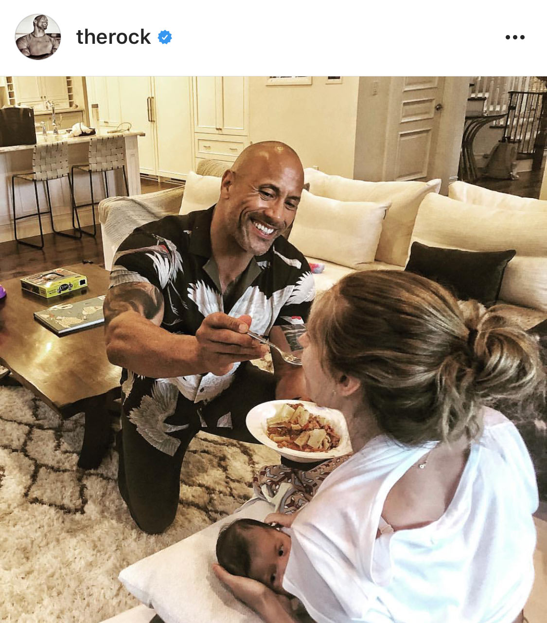 "Instagram post by Dwayne ""The Rock"" Johnson"