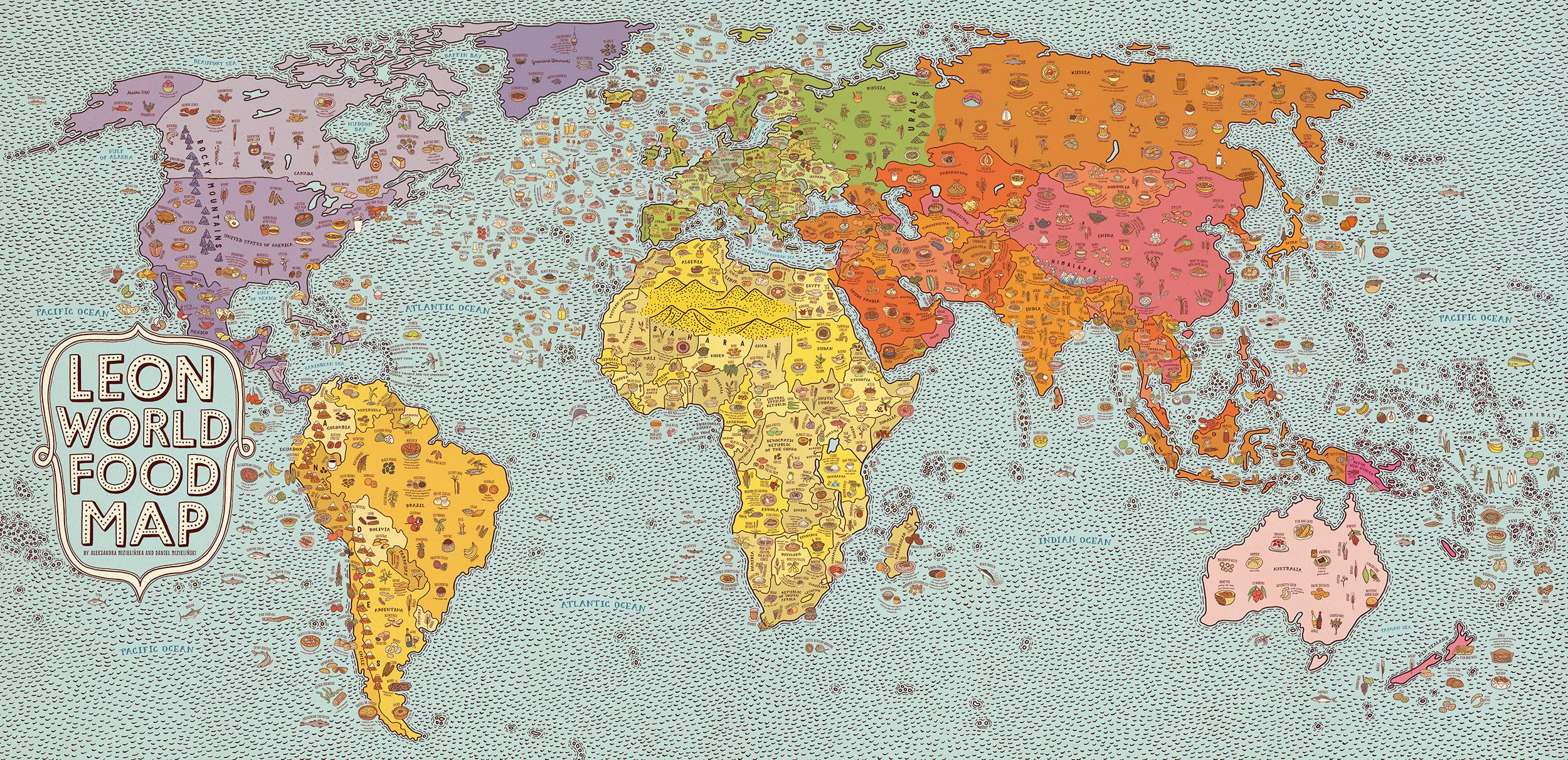 Leon World Food Map, 2014