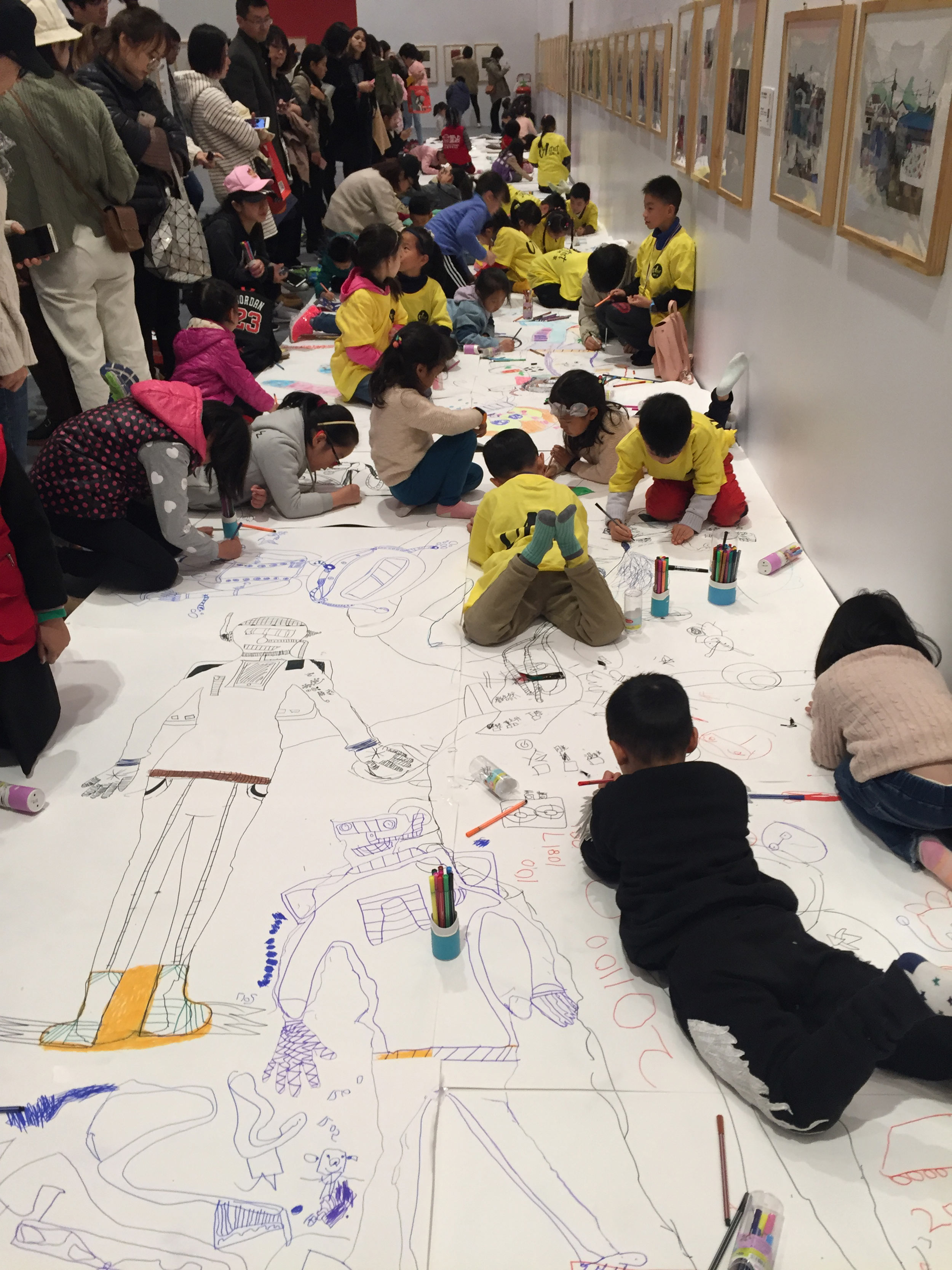 Workshop at Bologna Children's Illustration Exhibiton in Hangzhou, China