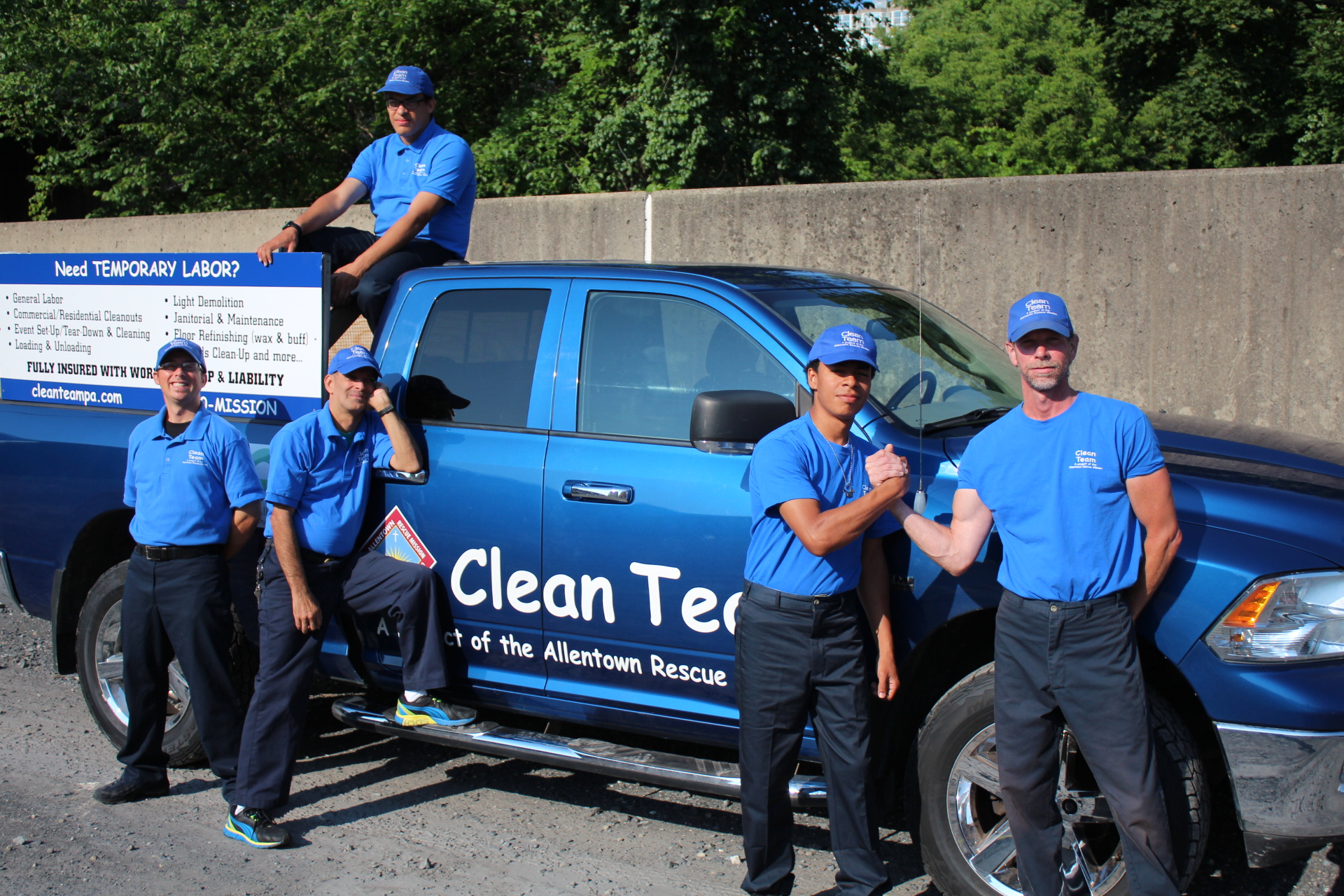 Cleaning Up Provides a Fresh Start - The Clean Team is a program of the Allentown Rescue Mission.