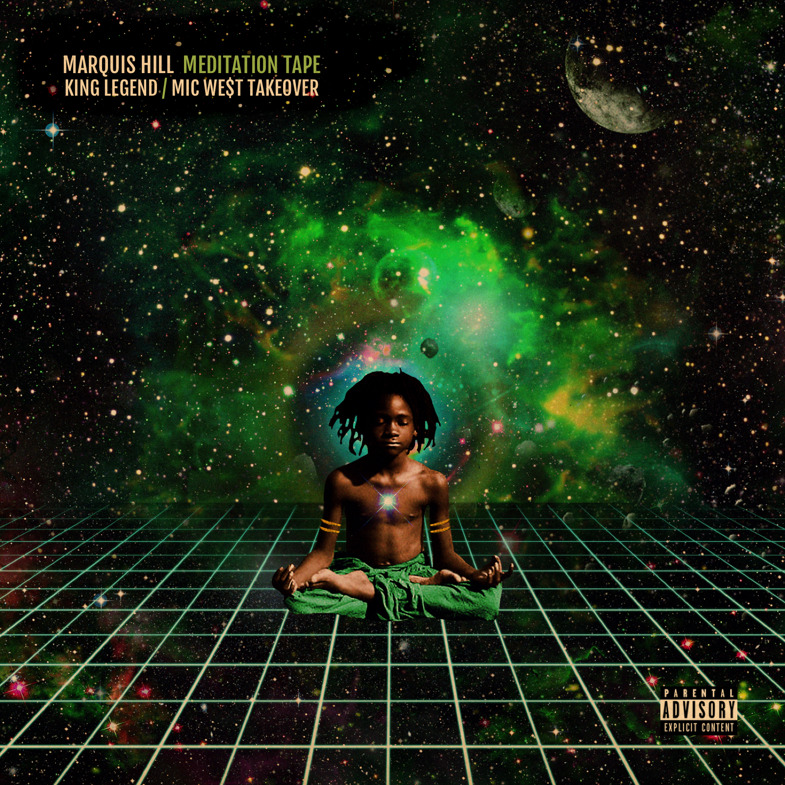 MEDITATION TAPE (KING LEGEND/MIC WEST TAKEOVER) -