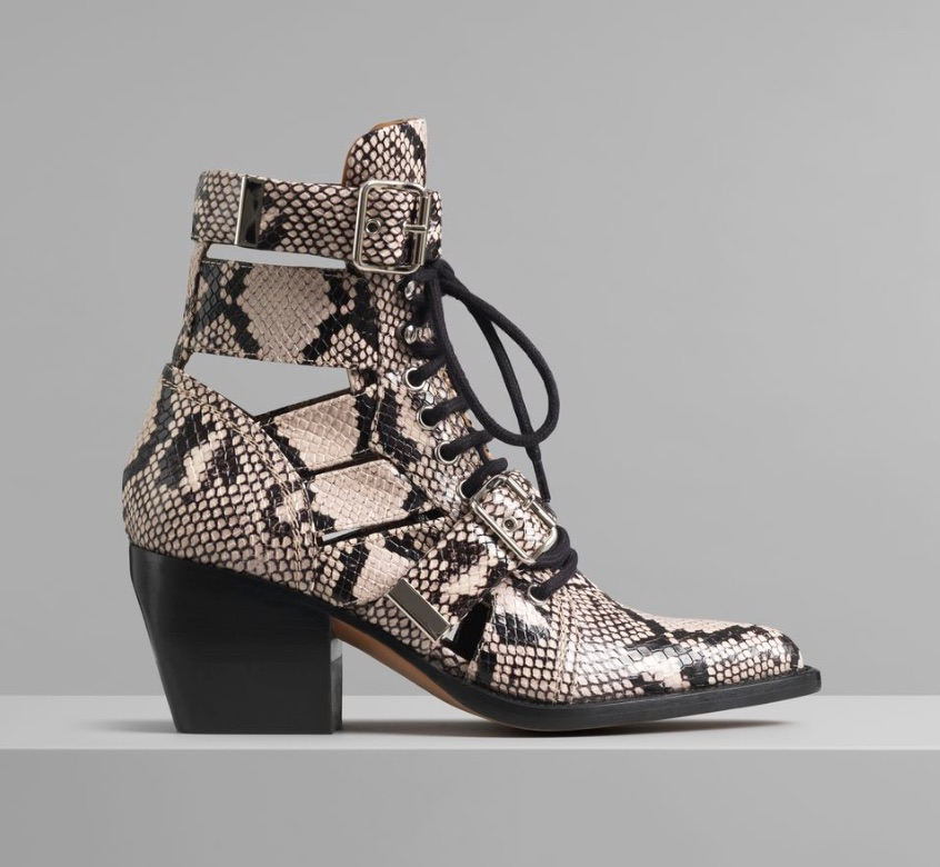 Chloe Rylee Leather Ankle Boots  $1,490