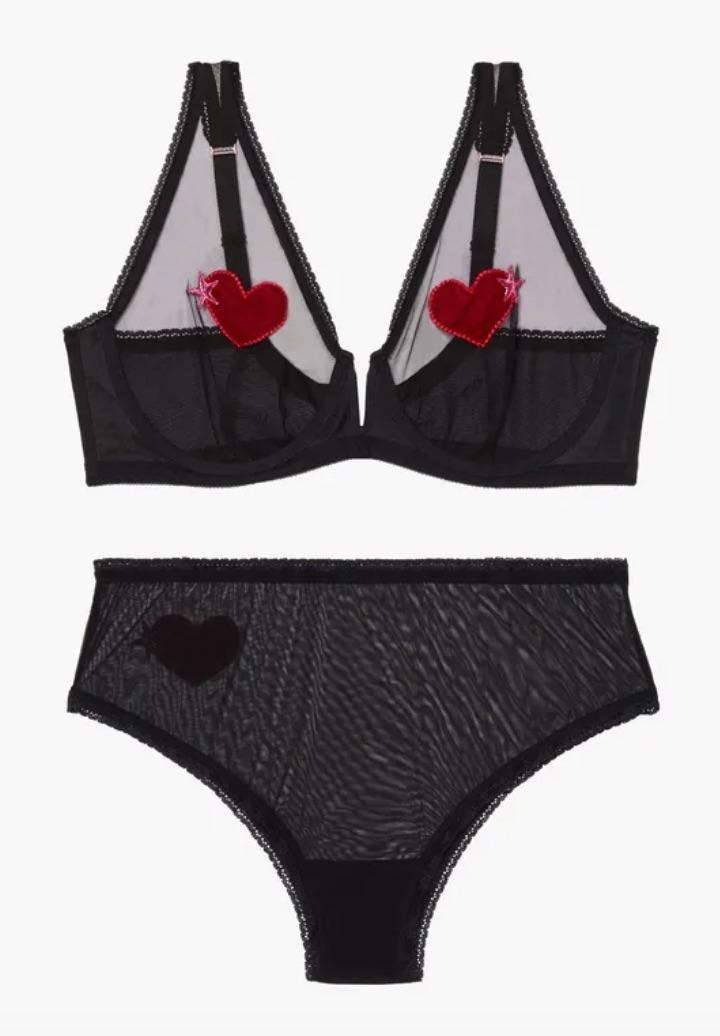 The Hearts Bra Set by SAVAGE x FENTY $79