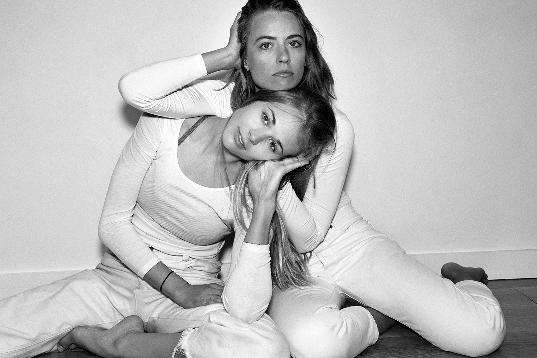 Chloe Kernaghan & Krissy Jones of  Skyting Yoga