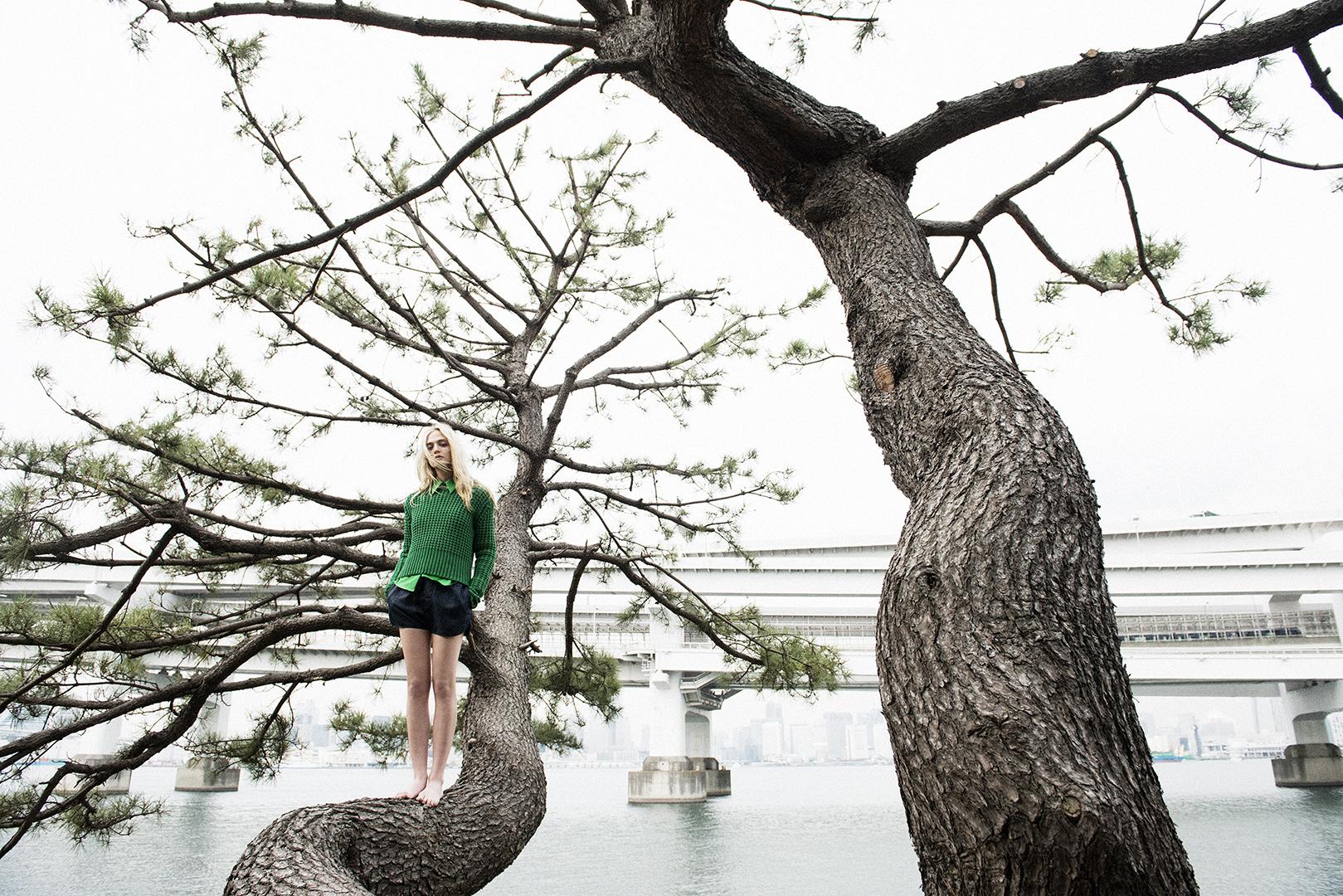 Cailin Hill for Elle Girl Japan