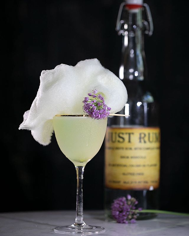 Our Classic Daquiri has a spritz of Absinthe - ask for it with cotton candy! . . . . . . .  #happyhourpdx  #picnicpdx #23rd #NW23rd #pdxbar #happyhour #portlandor #portlandrestaurants #pdxsandwich #portlandhappyhour #pdxrestaurants #pdxeats  #hhsnacks #travelportland #traveloregon #foodielife #portlandbars #craveportland #cocktails #queer #portlandfood #lgbtq #love #pdxbartender #daquiri #julesbianchiphotography  #absinthe #justrum #rhumagricole