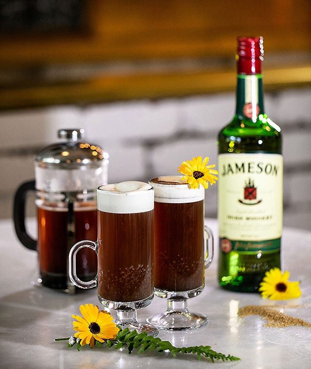 Sometimes I like my coffee with Demerara syrup & hand made whipped cream. (Aka Irish!)☘️ . . . . . . . .  #happyhourpdx  #picnicpdx #23rd #NW23rd #pdxbar #happyhour #portlandor #portlandrestaurants #pdxsandwich #portlandhappyhour #pdxrestaurants #pdxeats  #hhsnacks #travelportland #traveloregon #foodielife #portlandbars #craveportland #cocktails #queer #portlandfood #lgbtq #love #pdxbartender #cocktaillife #julesbianchiphotography #irishcoffee