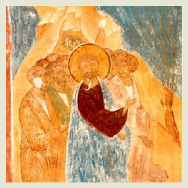 "In case you missed Holy Monday's message, Andrea Sutton delivers a call to begin your Holy Week preparations for Easter with an honest conversation with the Lord. ""Holy Monday – Christ's Call to Holiness: A HOLY WEEK ART SERIES"" [Art Work: Artist Unknown, Russian Fresco, 15th century] — ART, link in bio"
