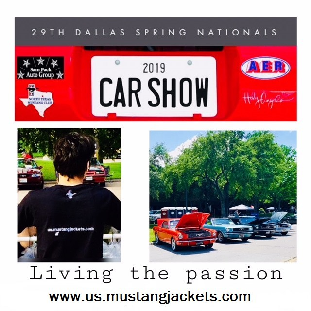 We had a great time at the 29th Dallas Springs Nationals show! Meeting great people and new fans of our jackets! Thank you! #dallasspringnationals