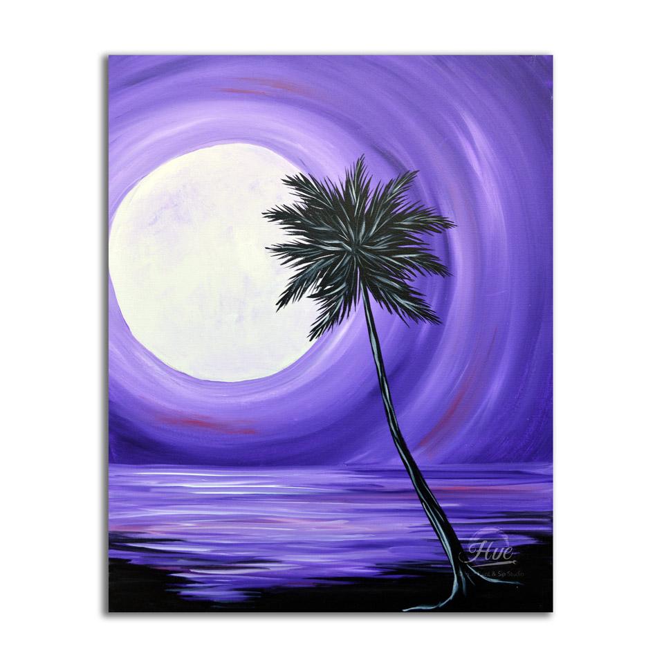Violet Moonrise