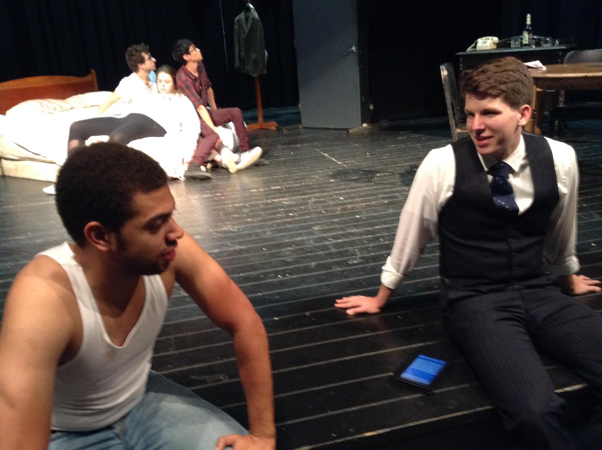 Da Boyz in Da Theatre  PC: Dalton White