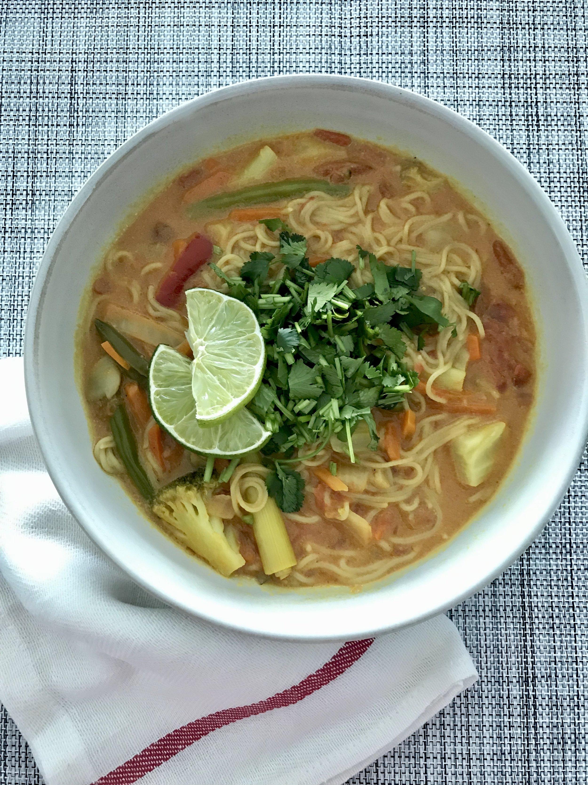 Vegan Coconut Soup - Easy & Keto Friendly!