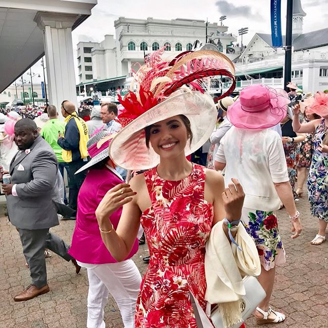 "Another Derby in the books! 🐎 ""To be born in Kentucky is a heritage; to brag about it is a habit; to appreciate it is a virtue."" ― Irvin Cobb  #kentuckyproud #derby"