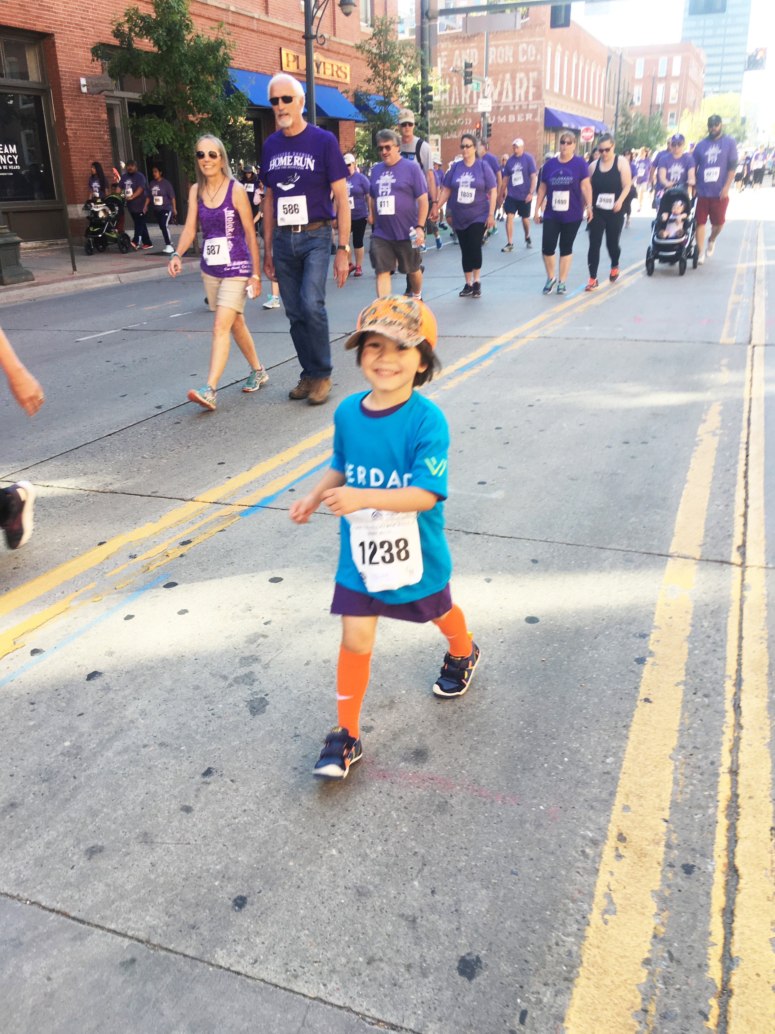 Smallest Denver Team Member at 5K