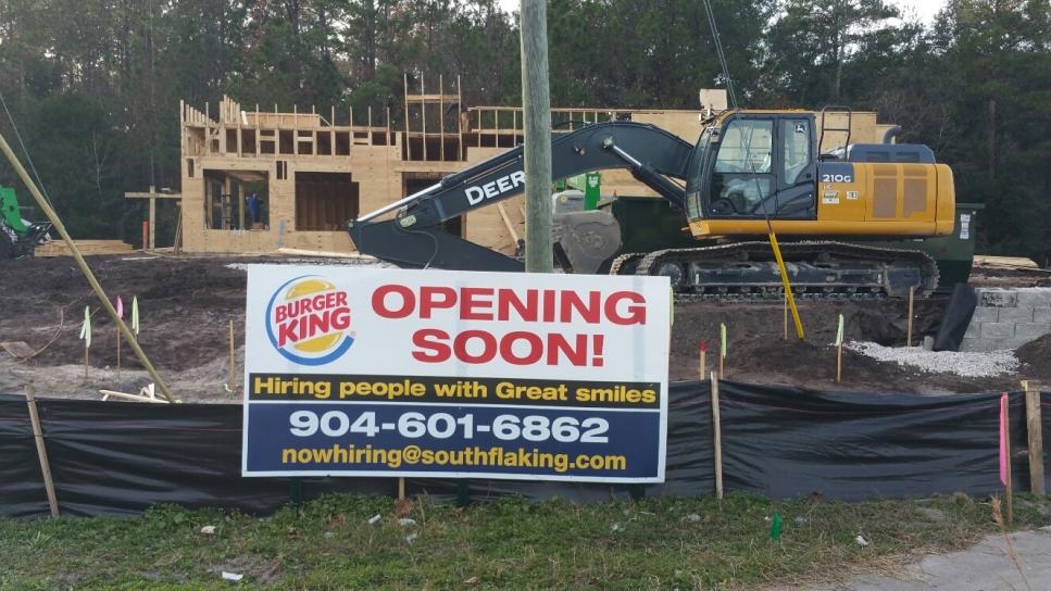 Verdad Project - Burger King - Middleburg FL - construction 04.jpg