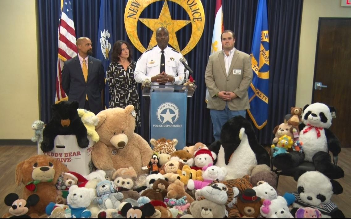 GiveBack Teddy Bear Drive NOPD Press Conference.jpg
