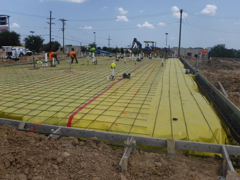 Verdad GC Project - Panera Bread Weatherford, TX - Construction 03.JPG