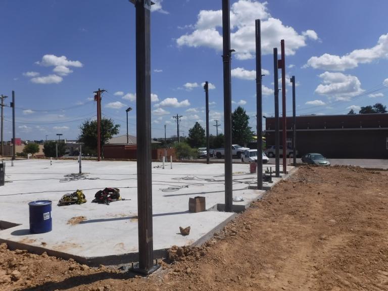 Verdad GC Project - Panera Bread Weatherford, TX - Construction 04.JPG