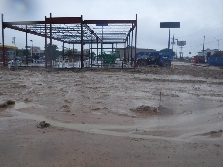 Verdad GC Project - Panera Bread Weatherford, TX - Construction 05.JPG