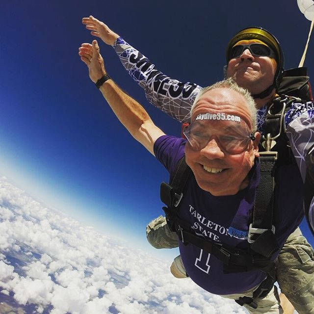 The sky's the limit with a degree in Kinesiology! . . . . #TeamKINE #TarletonKinesiology #Soaring #Flying #Wellness #Positivity #Scholars