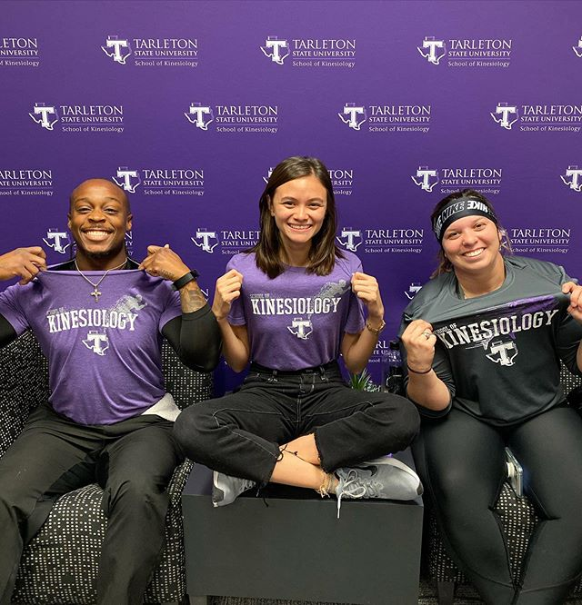 "Want Tarleton Kinesiology gear? We got you. We partnered with @barefootstephenville and have a store available.  Store Link:  https://bit.ly/2IXAwk9  If you use your phone to access the store, be sure to scroll down to the bottom and click ""Switch to Standard View"" • • • #TeamKINE #bleedpurple"