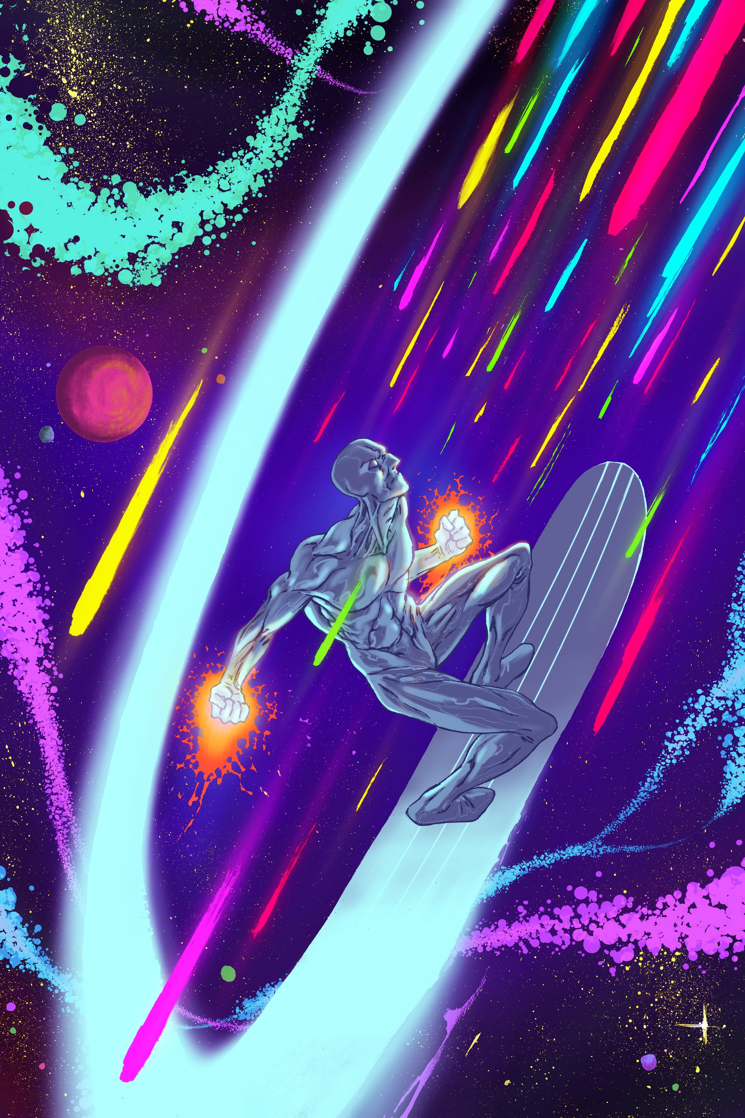 Silver Surfer Pinup