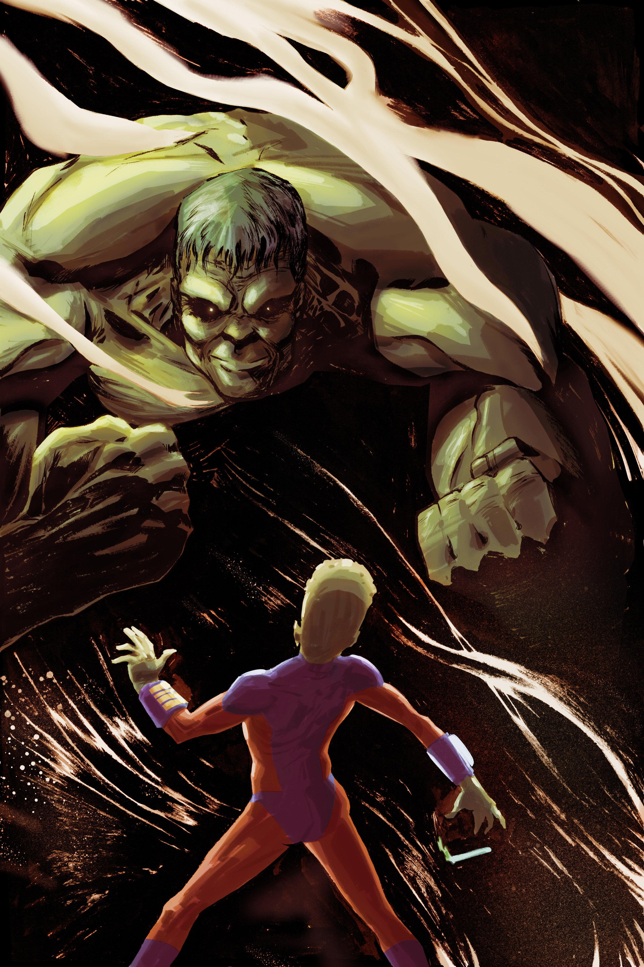 Hulk Pinup