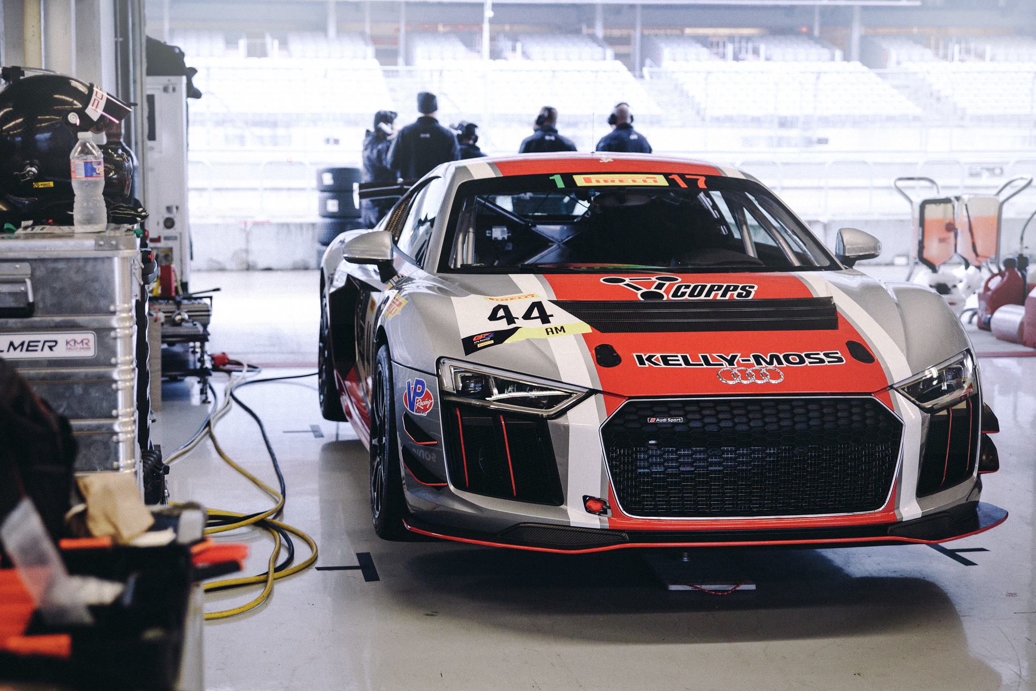 Kelly-Moss is known for Porsche GT3 Cup cars, but this year added an Audi.
