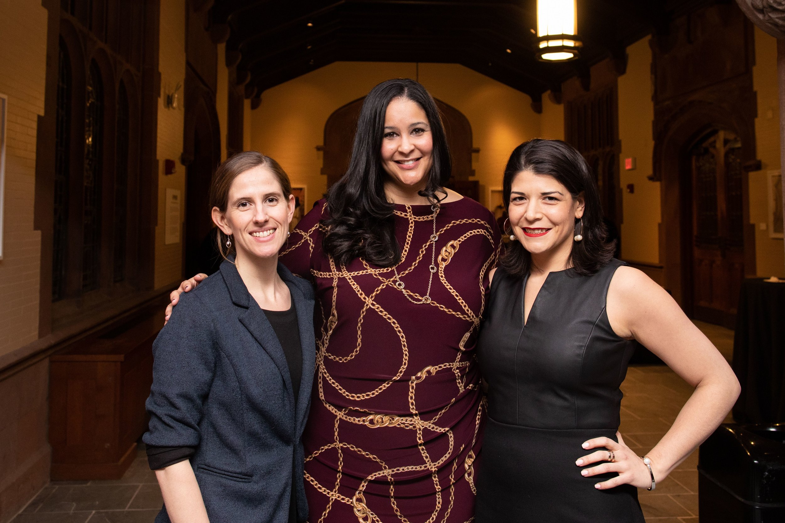 Founding Executive Committee - (from left to right)Devon Moore, University of Chicago (Director, Center for College Student Success)Kourtney Cockrell, Northwestern University (Director, Student Enrichment Services)Khristina Gonzalez, Princeton University (Associate Dean, Director of Programs for Access and Inclusion)