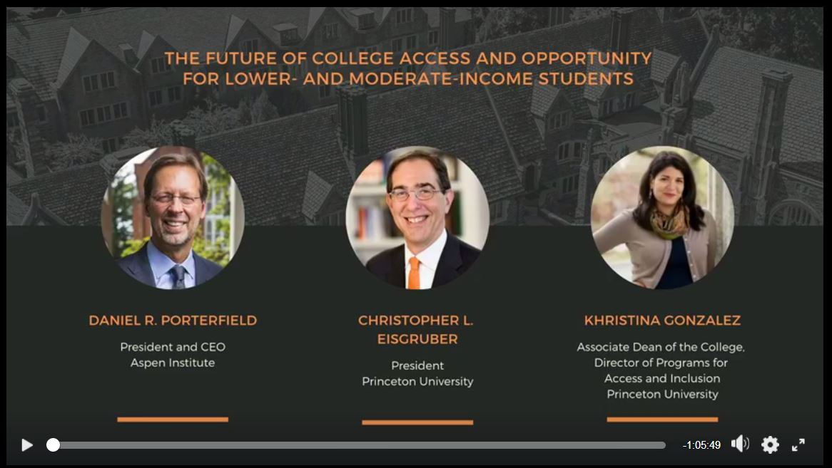 The Future of College Access and Opportunity for Lower- and Moderate-Income Students -